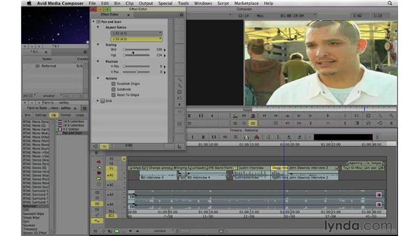 Dealing with multiple formats in a project: Documentary Editing with Avid Media Composer