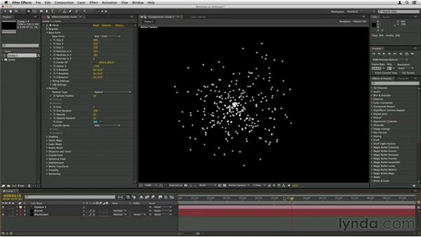 Using Trapcode Particular vs. Trapcode Form: Trapcode Particular Essential Training