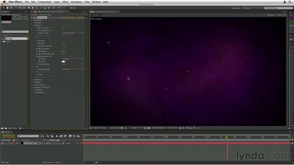Choosing the look of the particle: Trapcode Particular Essential Training