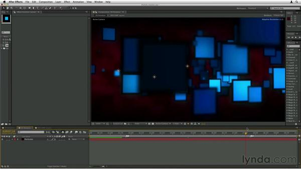 Rotating particles: Trapcode Particular Essential Training