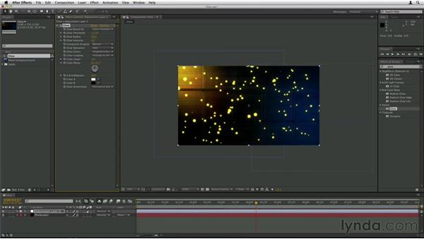 Adding glow: Trapcode Particular Essential Training