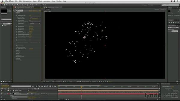 Using a motion path: Trapcode Particular Essential Training