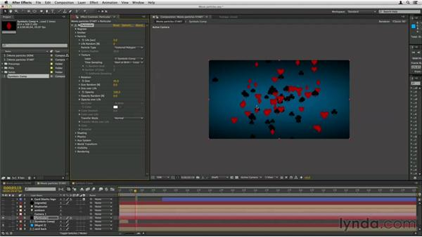 Using a movie as a particle: Trapcode Particular Essential Training