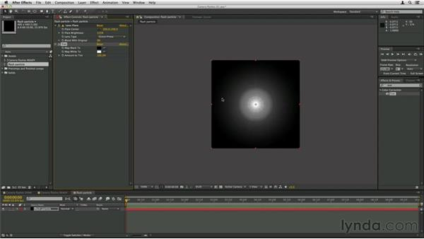 Creating the basic flash particle: Trapcode Particular Essential Training