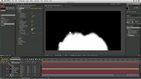 Making the smoke: Trapcode Particular Essential Training