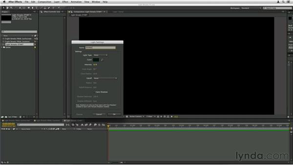 Creating and animating the emitter: Trapcode Particular Essential Training
