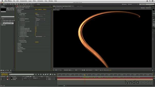 Smoothing with subframes: Trapcode Particular Essential Training
