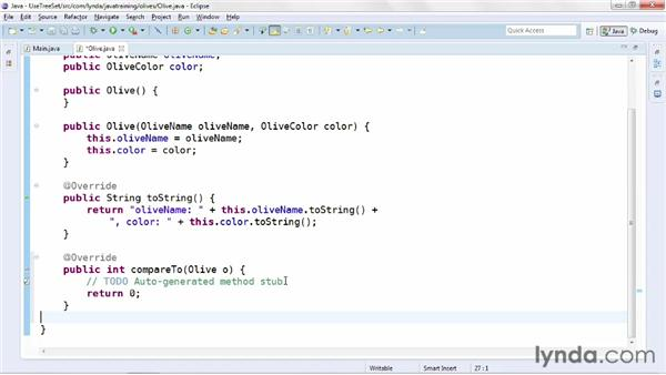Managing ordered sets with TreeSet: Java Advanced Training