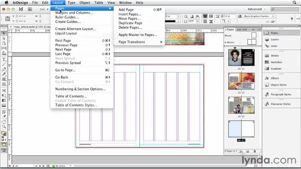058 Inserting pages: Understanding the Pages panel: InDesign Secrets