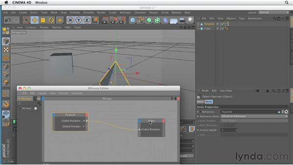 Introducing Xpresso: CINEMA 4D Essentials 8: Character Rigging and Xpresso