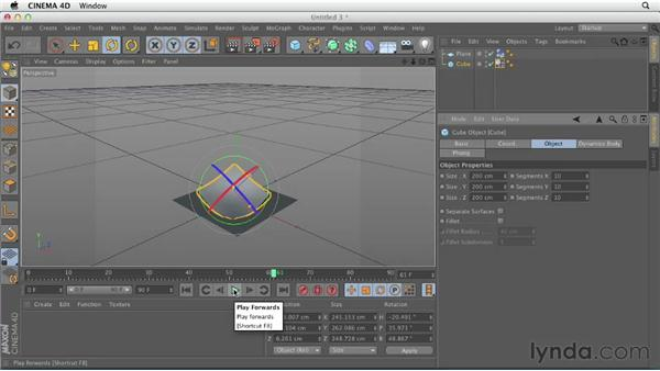 Explaining the difference between Rigid and Soft Bodies: CINEMA 4D Essentials 9: Particles and Dynamics