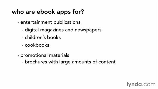 Who is an ebook for?: Digital Publishing Fundamentals