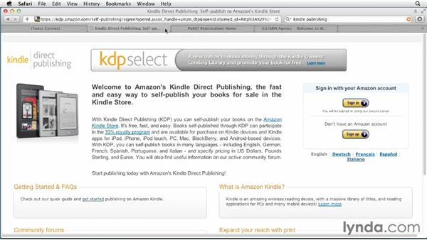 Exploring self-publishing possibilities: Digital Publishing Fundamentals