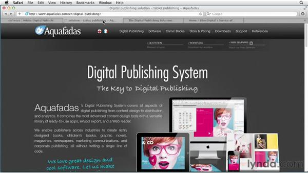 Looking at other publishing solutions: Digital Publishing Fundamentals