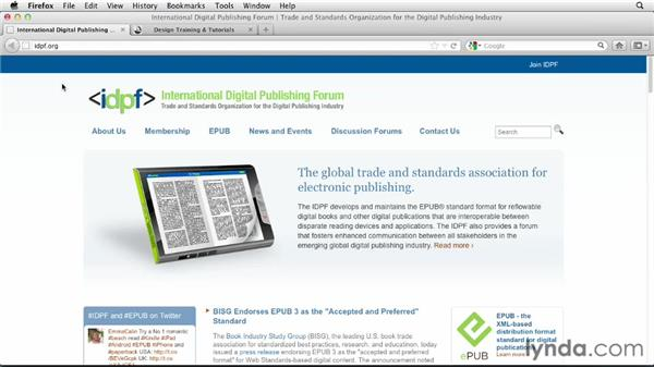 Additional resources: Digital Publishing Fundamentals