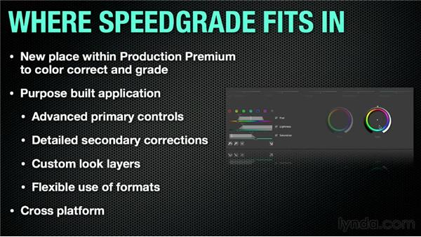 What is SpeedGrade?: Up and Running with SpeedGrade