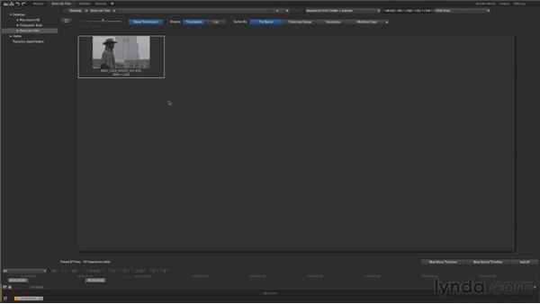 Exploring the desktop: Up and Running with SpeedGrade