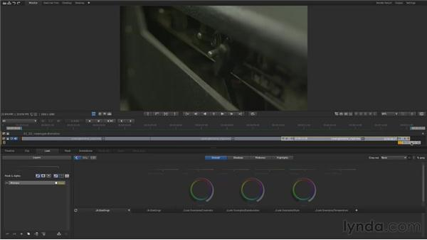 Viewing clips and navigating the Timeline: Up and Running with SpeedGrade