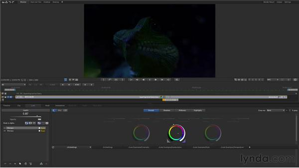 Layering corrections: Up and Running with SpeedGrade