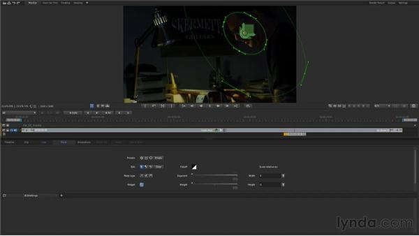 Using masks to make secondary corrections: Up and Running with SpeedGrade