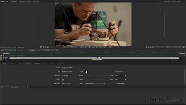 Tracking masks: Up and Running with SpeedGrade