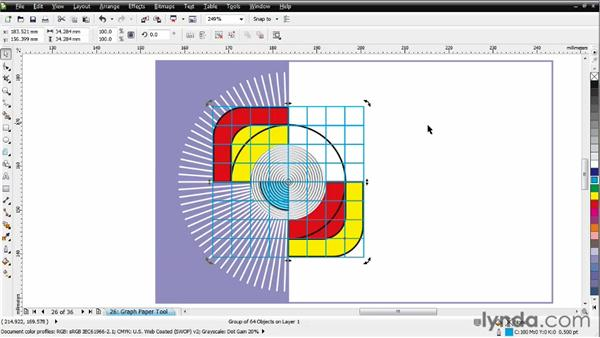 Adding unique graph shapes: CorelDRAW Essential Training