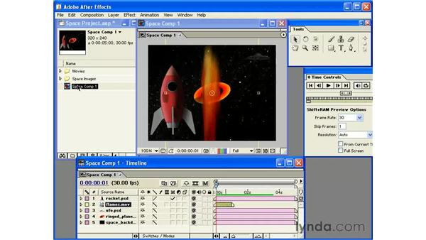 interpreting footage: After Effects 6 Essential Training