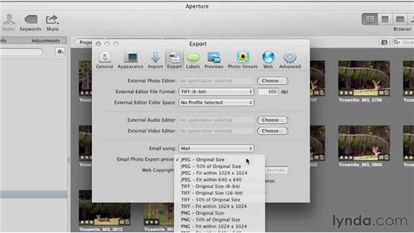 Setting essential preferences: Aperture 3 Essential Training (2012)