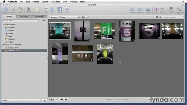 Sharing libraries: Aperture 3 Essential Training (2012)