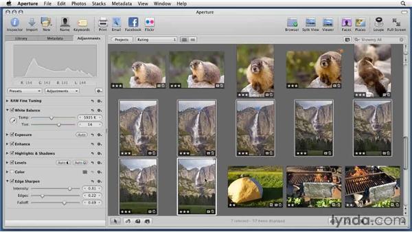 Rotating images: Aperture 3 Essential Training (2012)