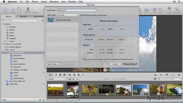 Creating a custom template: Aperture 3 Essential Training (2012)