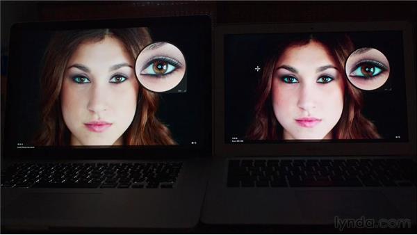Taking advantage of Retina display Macs: Aperture 3 Essential Training (2012)