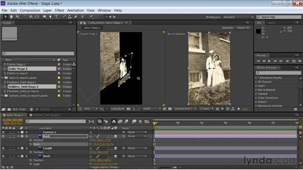 Setting the initial depth: Motion Control 3D: Bringing Your Photos to Life in Three Dimensions with After Effects and Photoshop CS6