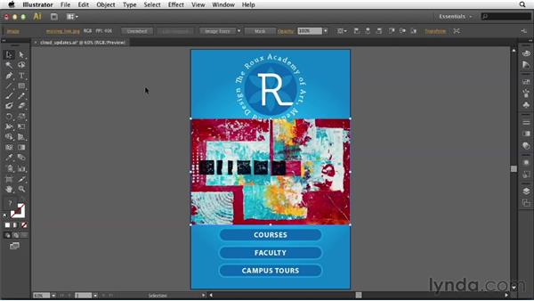 Unembedding images: Illustrator CS6 New Features