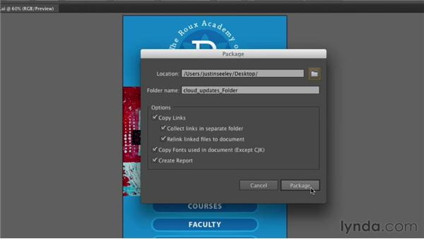 Packaging your artwork: Illustrator CS6 New Features