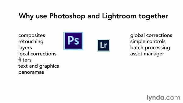 Why use Lightroom and Photoshop together?: Using Lightroom and Photoshop Together