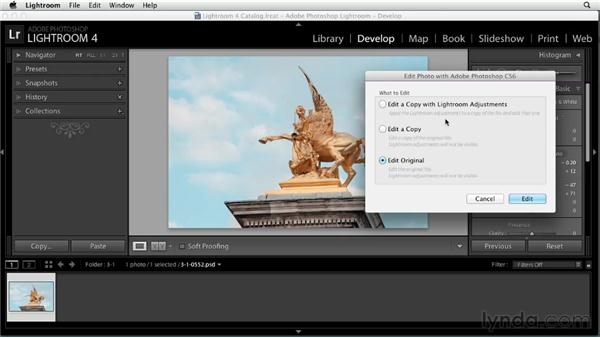 Passing non-raw photos from Lightroom to Photoshop: Using Lightroom and Photoshop Together
