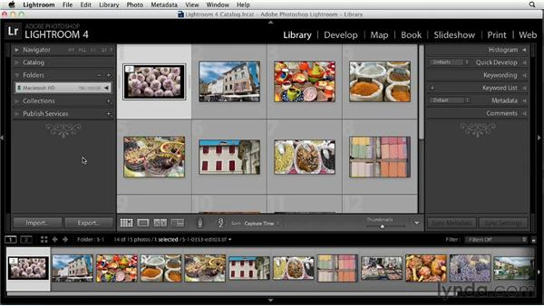 Sorting and stacking edited photos in Lightroom: Using Lightroom and Photoshop Together