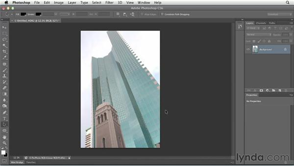 Creating an HDR image with Lightroom and Photoshop: Using Lightroom and Photoshop Together