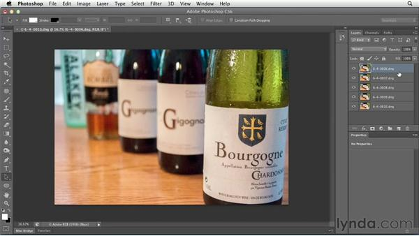 Opening as layers in Photoshop from Lightroom: Using Lightroom and Photoshop Together