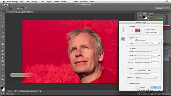 Making precise local corrections: Using Lightroom and Photoshop Together