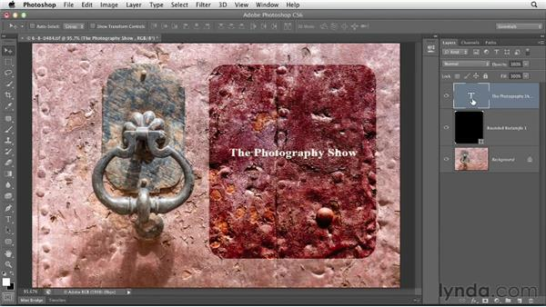 Enhancing photos with text and graphics: Using Lightroom and Photoshop Together