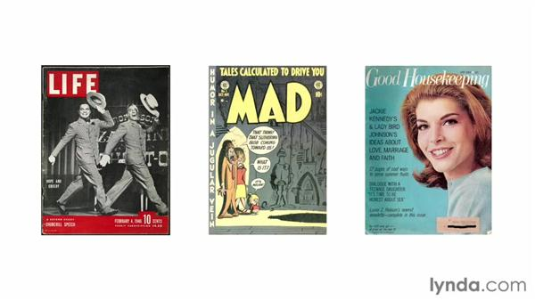 Looking at the history of magazine covers: Designing a Magazine Cover
