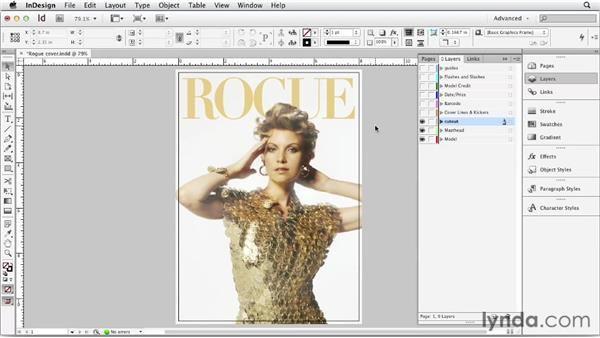 Understanding the parts of a magazine cover: Designing a Magazine Cover