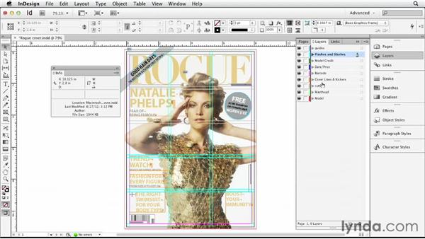 Cropping the cover image: Designing a Magazine Cover