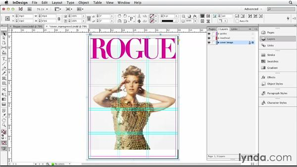 : Designing a Magazine Cover