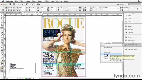 Refining cover lines: Designing a Magazine Cover