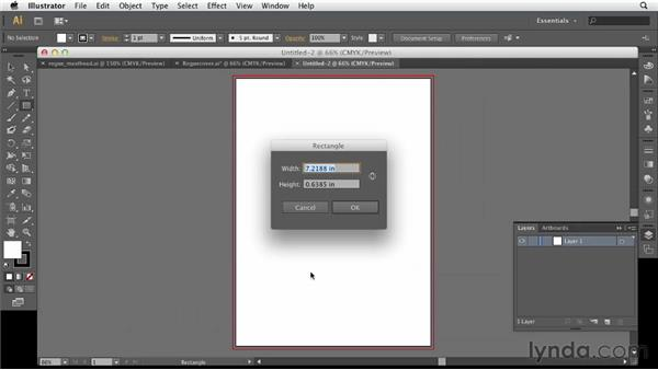 Setting up the Illustrator document: Designing a Magazine Cover