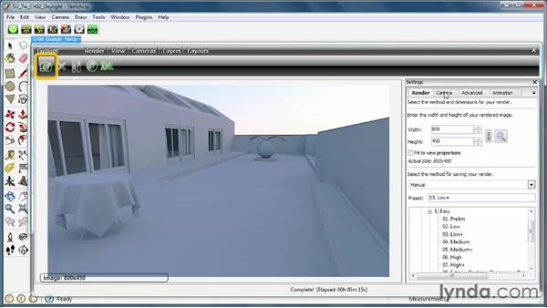 Adding the Physical Sun and Sky: SketchUp Rendering Using Twilight