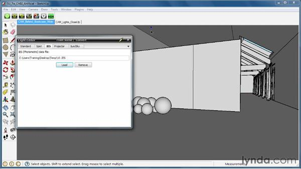 Adding the IES light type: SketchUp Rendering Using Twilight